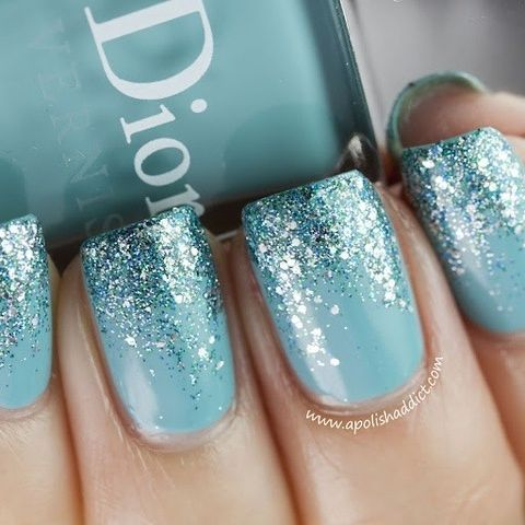 Glitter Nails via