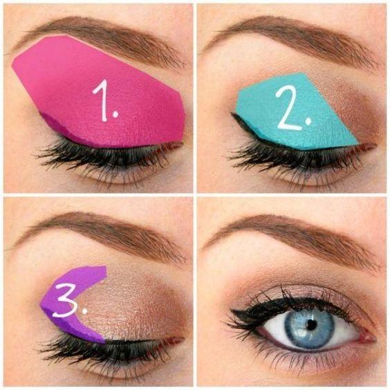 How to Apply Eye Shadow via