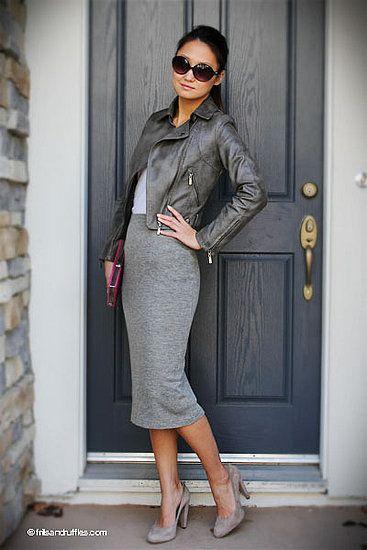 jacket-and-grey-pencil-skirt via