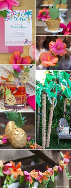luau-inspiration-board