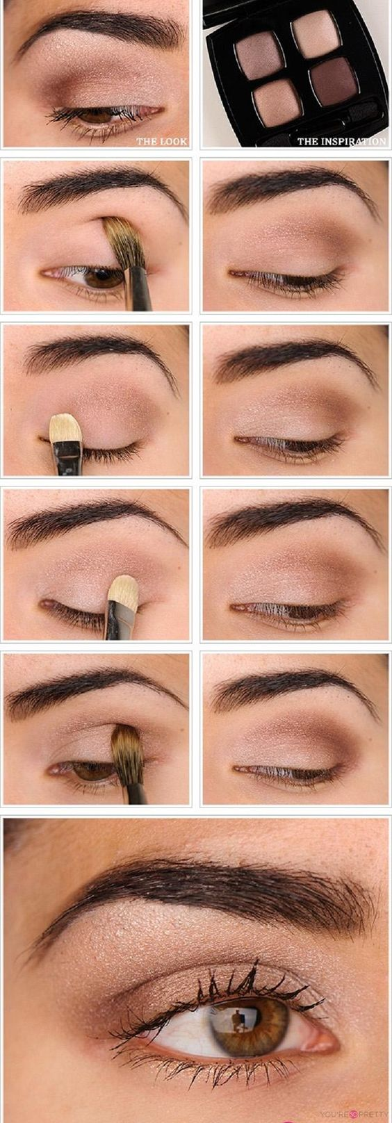 11 Eye Makeup Tutorials You Want to Try for Office Looks - Pretty