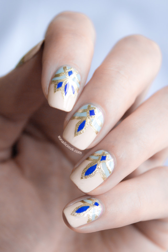 Patterned Nails via