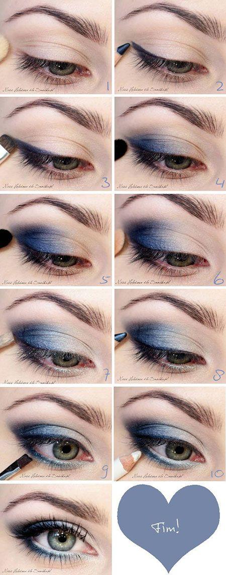 Perfect Smokey Eyes via