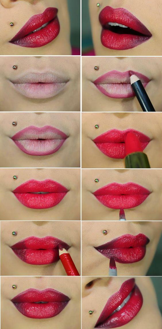 Red Lips via