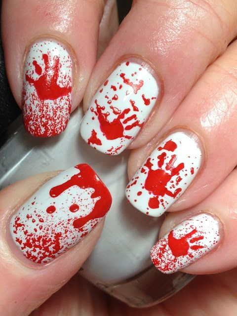 red-and-white-nails via