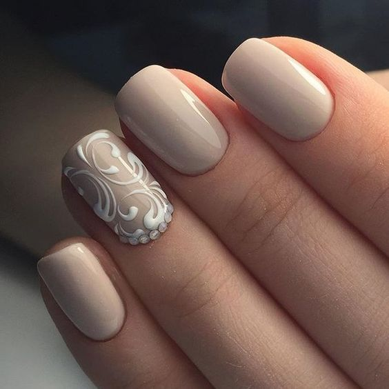 18 Beige Nails For Your Next Manicure Pretty Designs