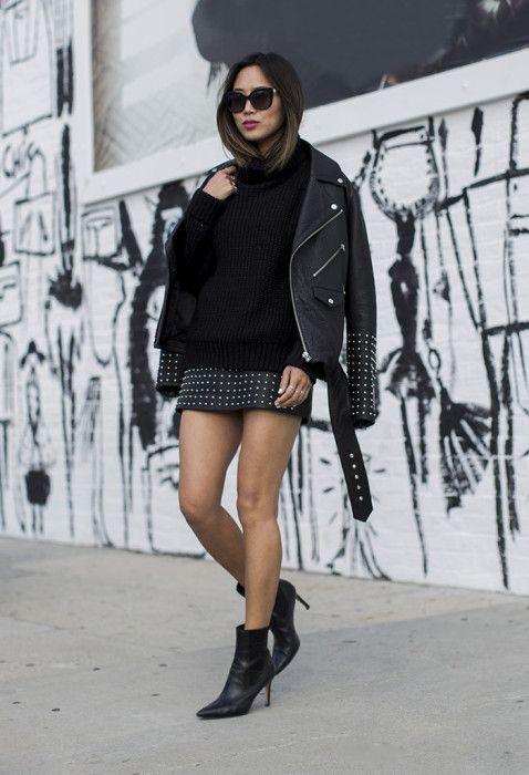 studded-leather-jacket-and-studded-skirt via