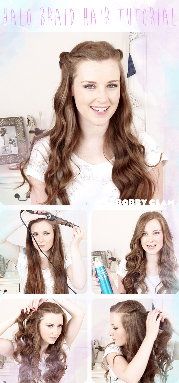 Superb 15 Easy Hair Tutorials For Curly Hair Pretty Designs Short Hairstyles Gunalazisus