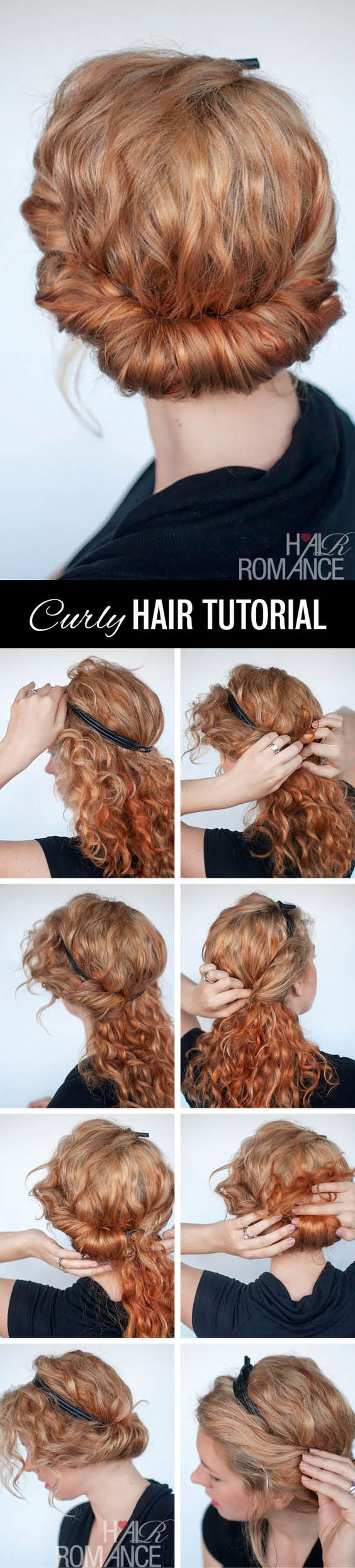 15 Easy Hair Tutorials For Curly