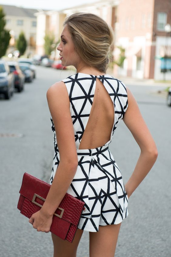white-jumpsuit-with-black-lines via