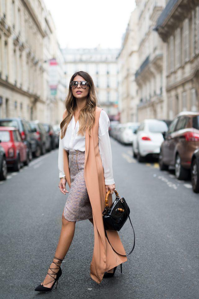 23 lange vestideeën om je looks op te waarderen lang vest