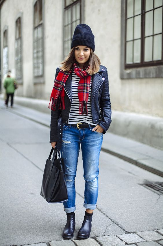 How to Rock Boyfriend Jeans