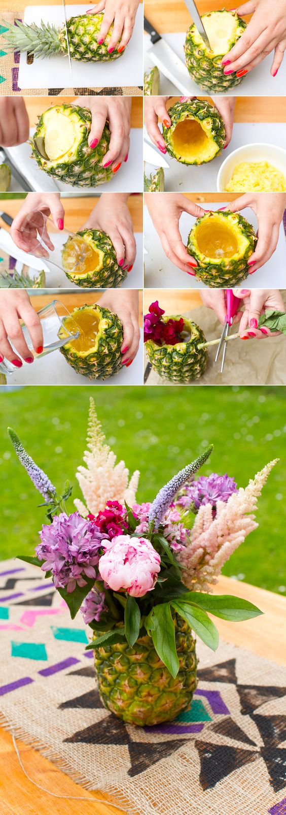 pineapple-floral-arangement