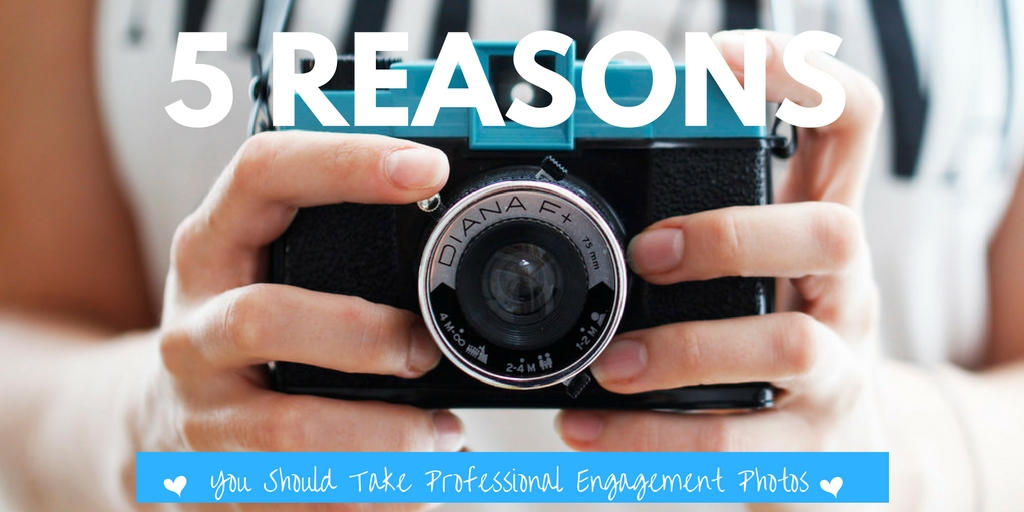 5 Reasons You Should Take Professional Engagement Photos