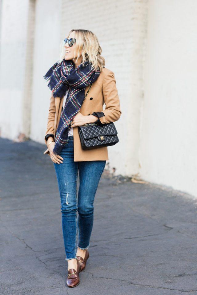 blue-scarf-camel-blazer-and-jeans via