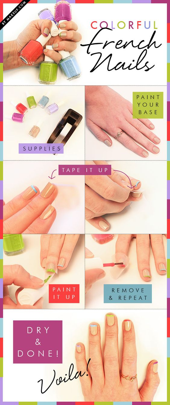 colorful-nails via