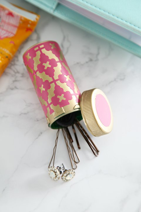 diy-hair-pin-bottle via