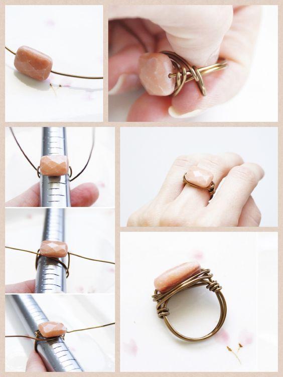 diy-stone-ring via