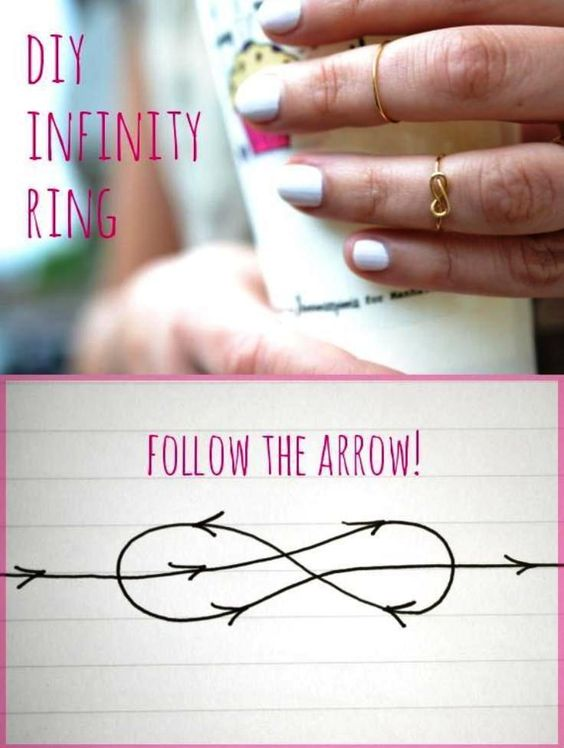 infinity-wire-rings via