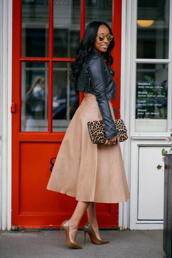 leather-jacket-leather-skirt-and-leopard-handbag via