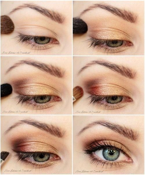 metallic-eye-makeup via