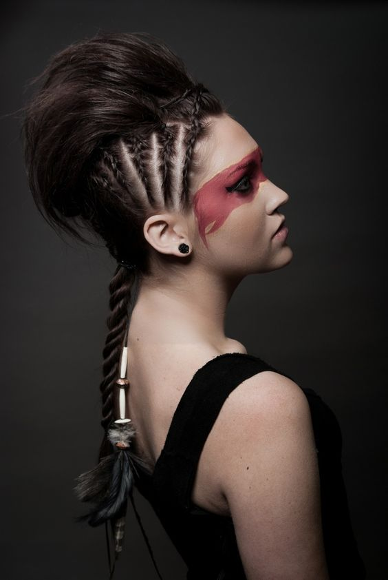17 Hairstyles For Your Halloween Costumes Pretty Designs