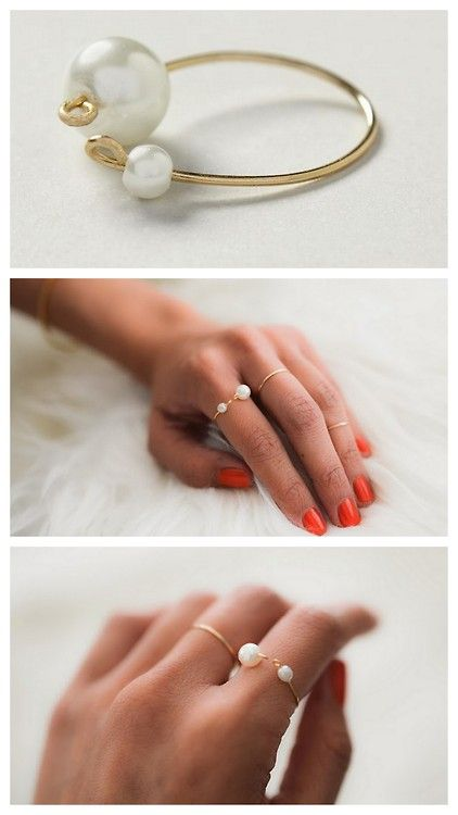 pearl-ring via