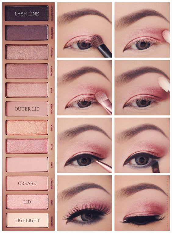 pink-eye-makeup via