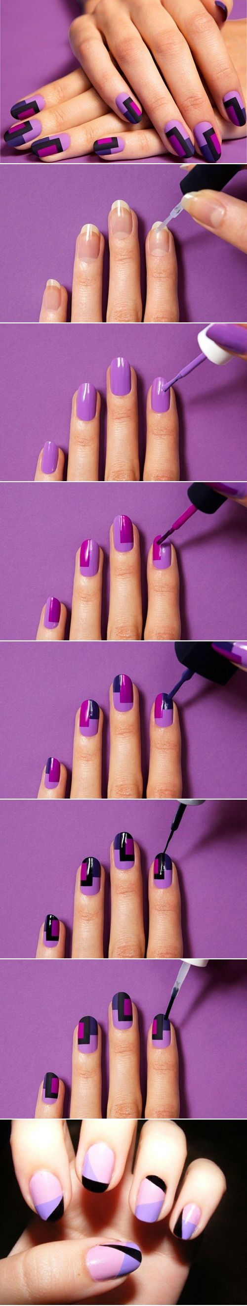 purple-and-blue-nails via