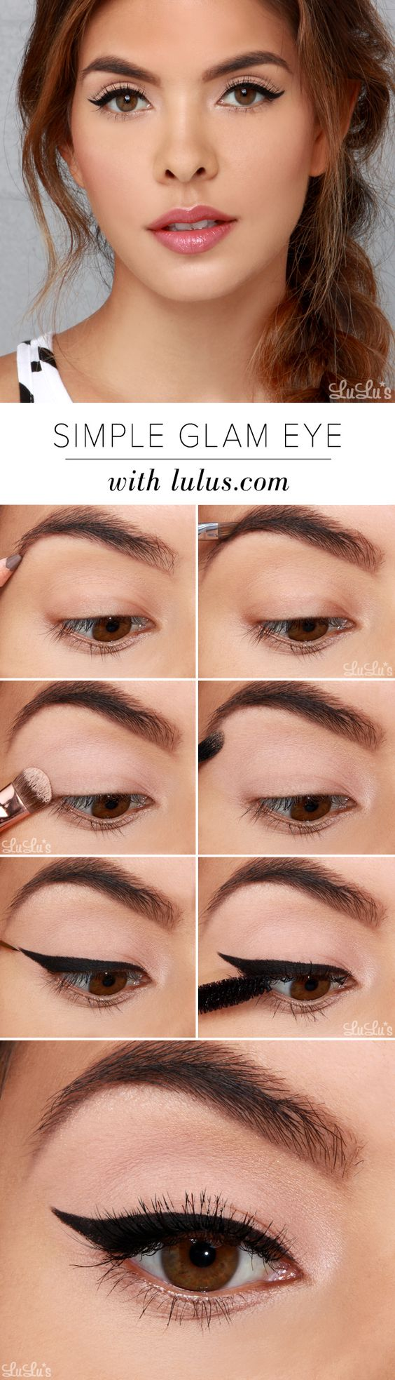 Easy Bridal Makeup Steps : 15 Easy Step by Step Bridal Eye Makeup Tutorials - Pretty ...