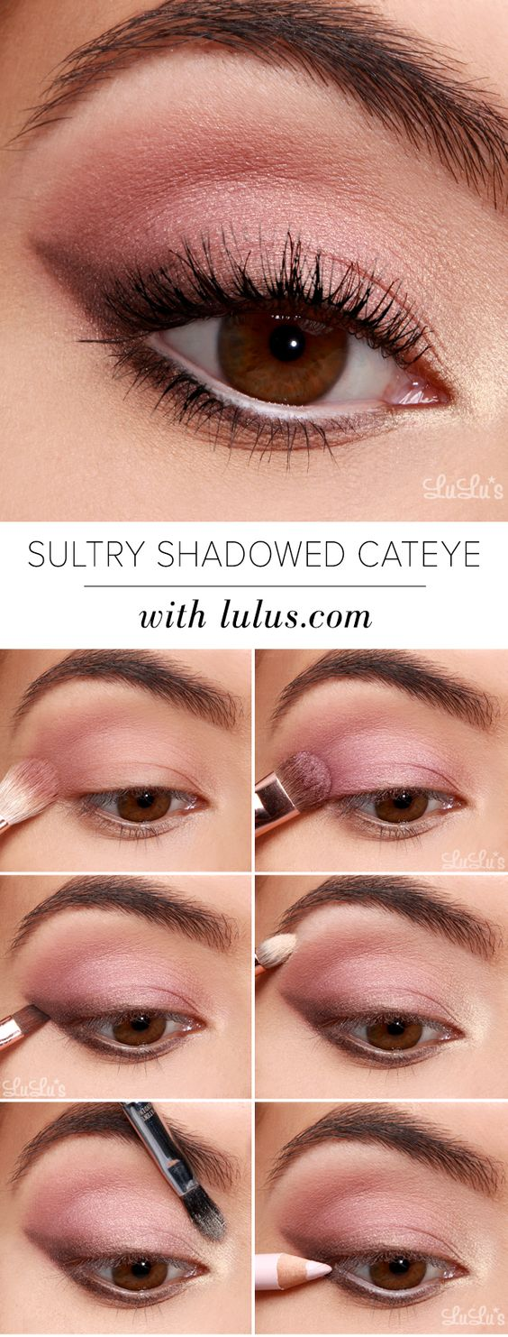sultry-shadowed-cat-eye-makeup via