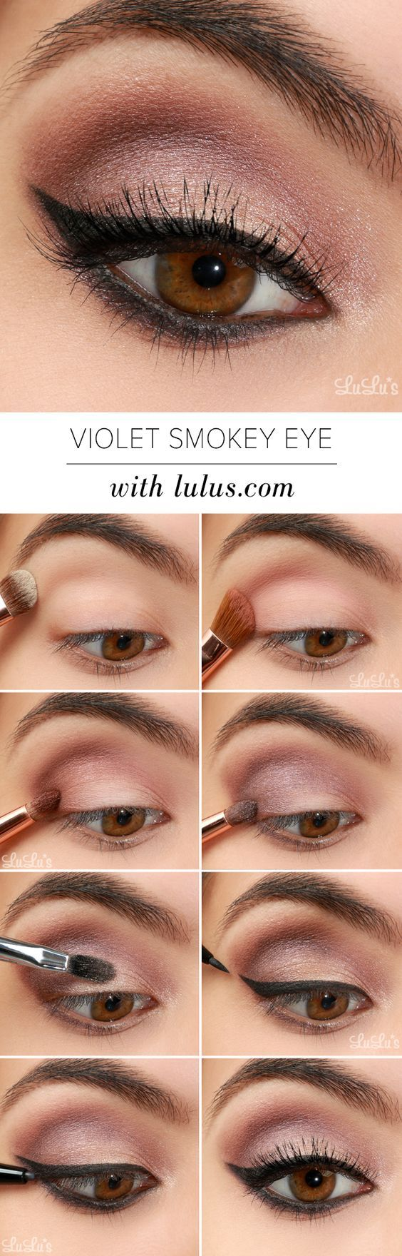 violet-smokey-eye-makeup via