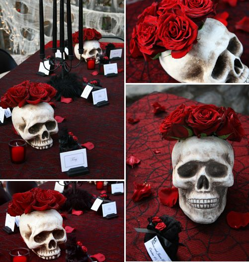 34 Times Someone Rocked A Halloween Wedding Theme