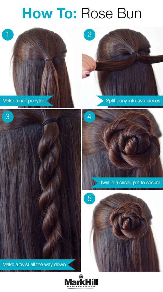 26 Amazing Bun Updo Ideas For Long U0026 Medium Length Hair