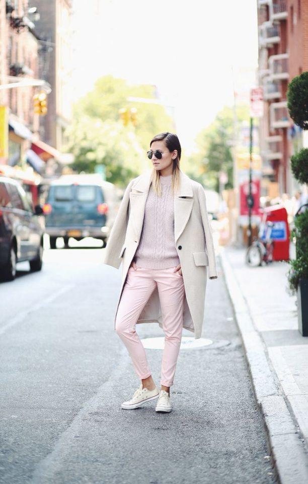 beige-coat-beige-swear-and-pink-pants via