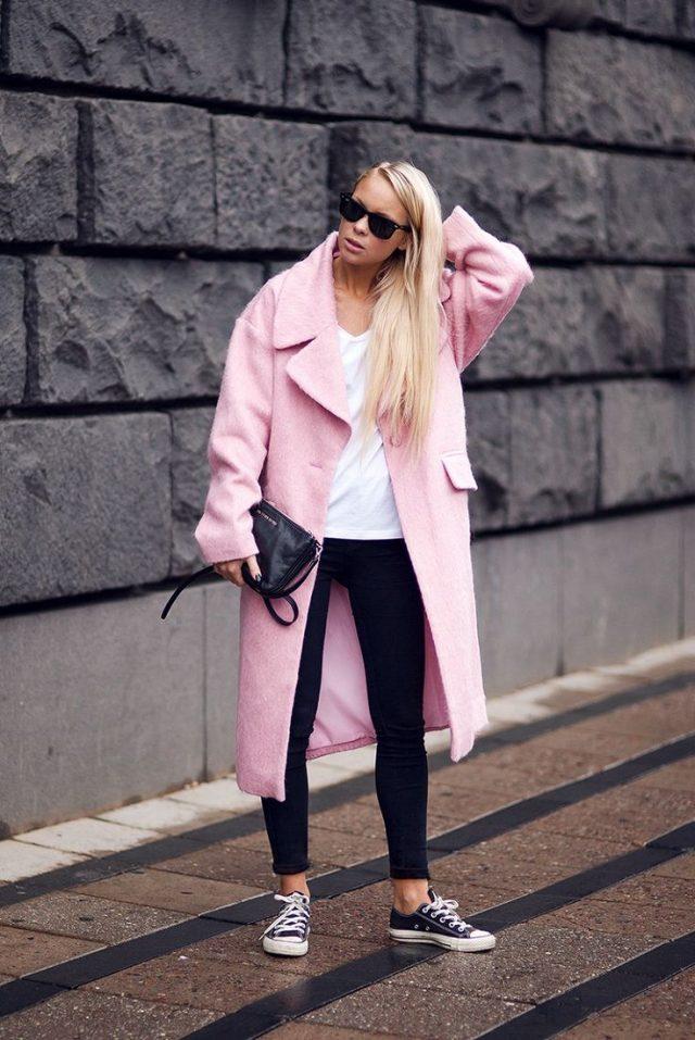 black-and-white-basic-pink-coat via