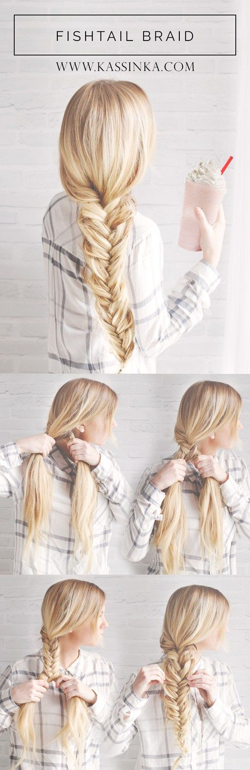 blunt-fishtail-braid via