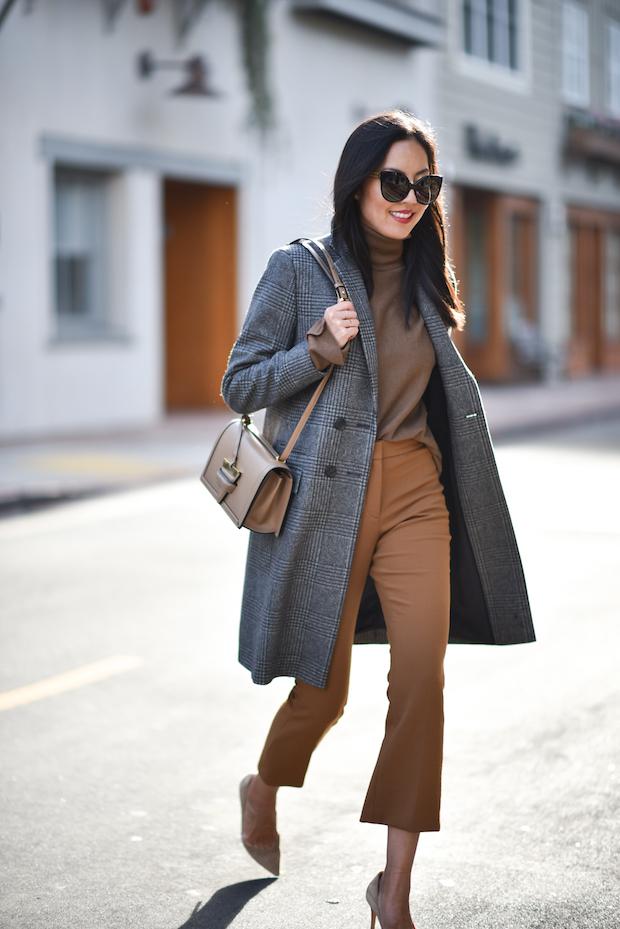 brown-turtleneck-and-grey-coat via