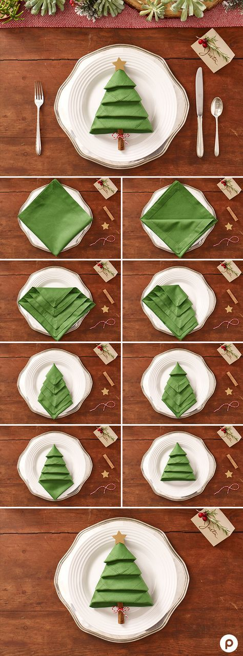 christmas-tree-napkins via