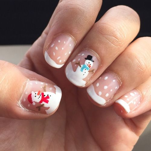 20 ideas you will love for christmas nails pretty designs