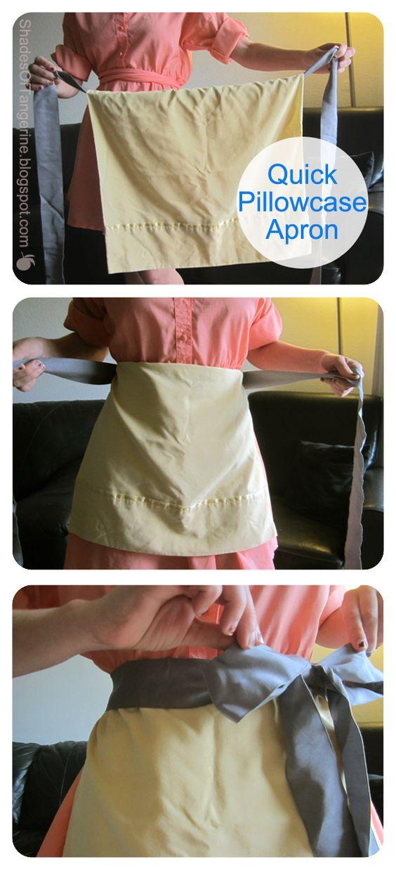 diy-pillowcase-apron via