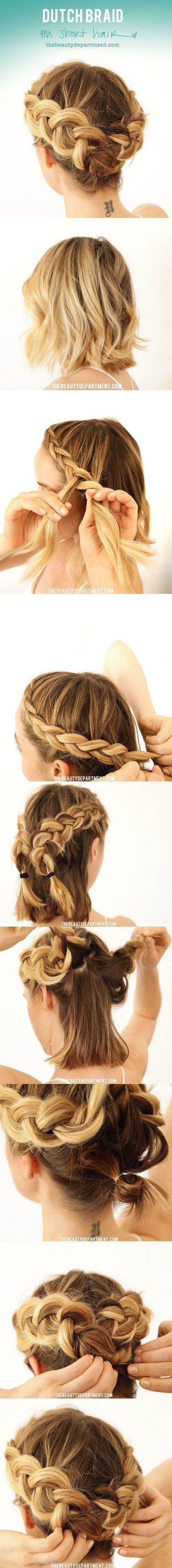 dutch-braid via