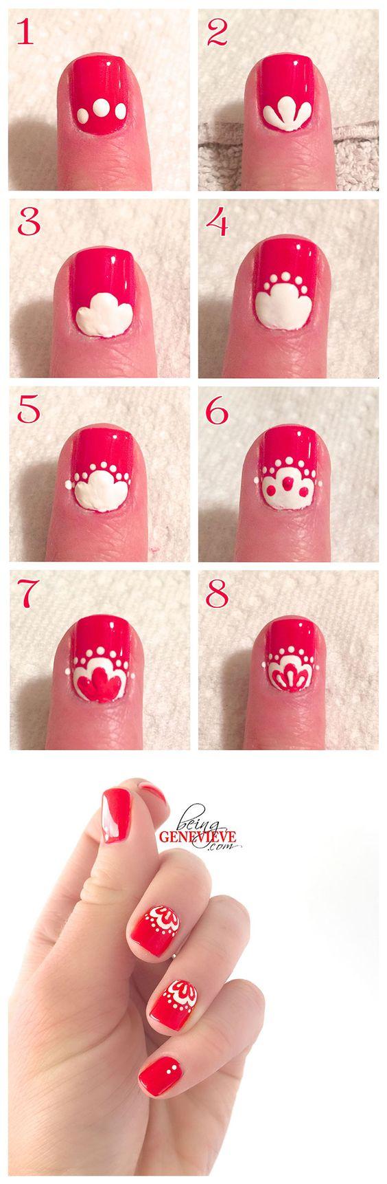 floral-nails via