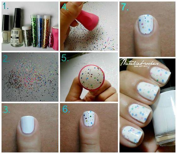 glitter-stamping-nails via