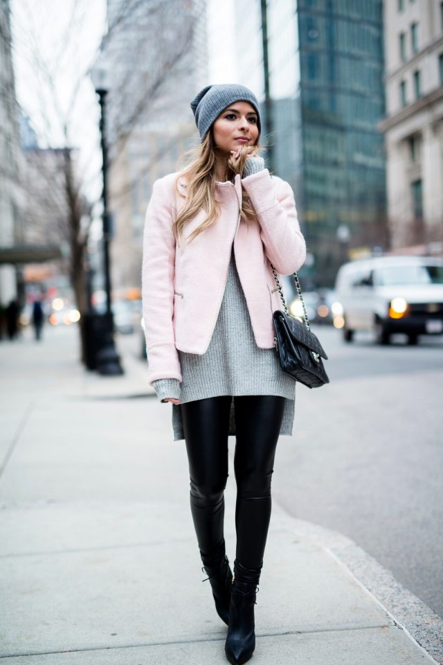 grey-sweater-and-short-coat via