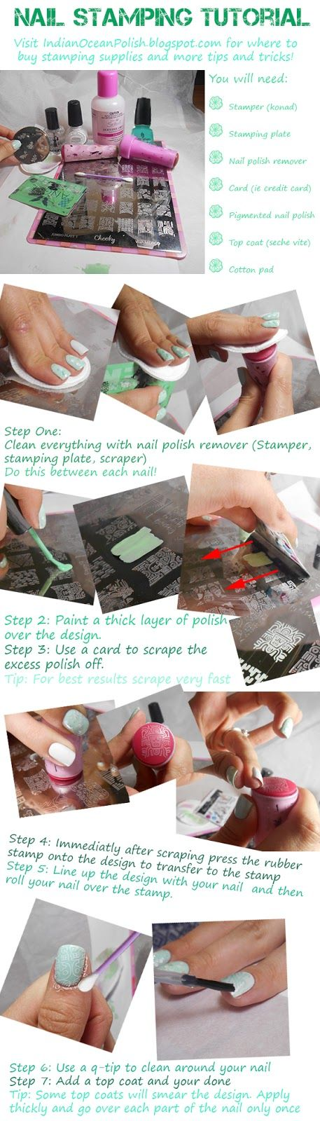 light-green-stamping-nails via