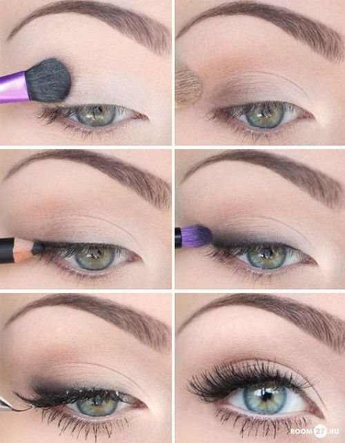 natural-eye-makeup-for-brown-eyes via