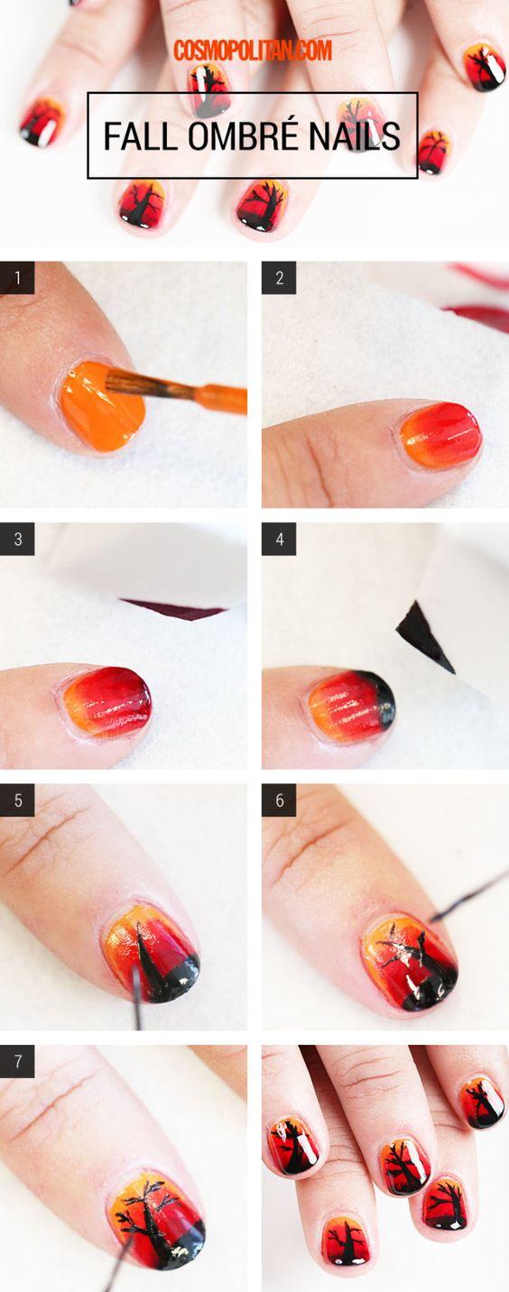 ombre-nails via