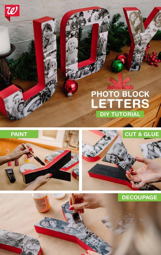 photo-letters via