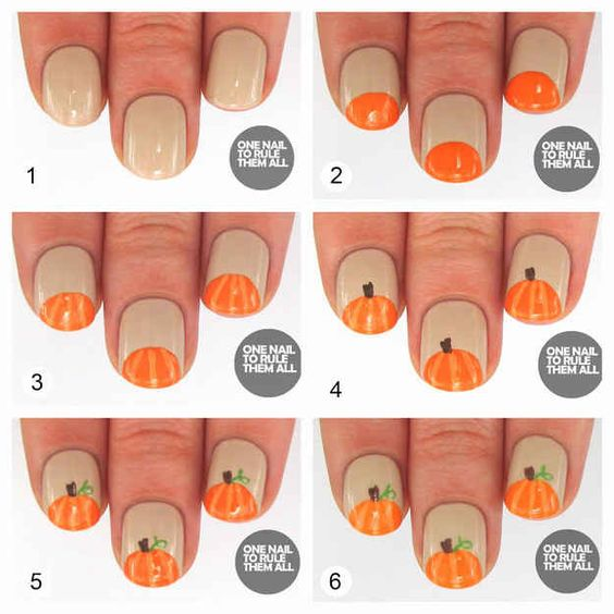 pumpkin-nails via